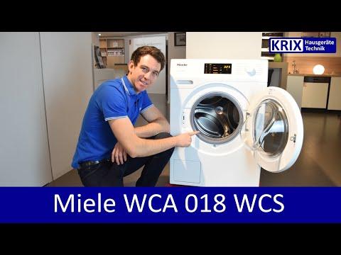 Vorstellung Miele Waschmaschine W1 WCA018 WCS