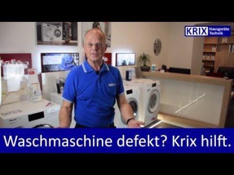 Waschmaschine defekt? Geschirrspüler defekt? Reparatur und Service von Krix!