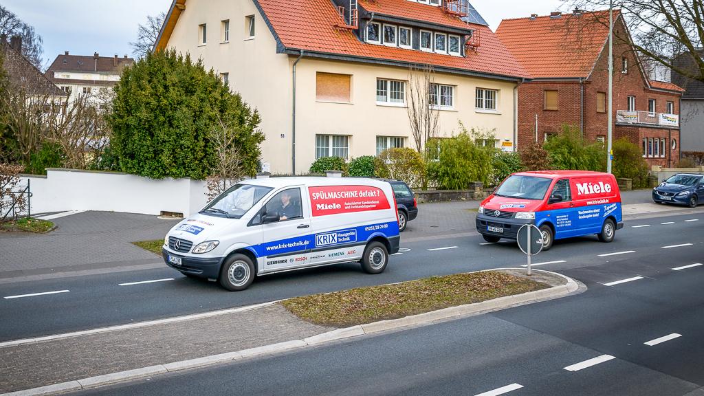 Kundendienst Paderborn und Salzkotten Waschmaschine Trockner