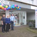 Das Krix Team freut sich über viele Gäste bei der Eröffnung